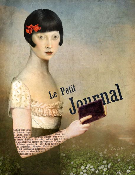 'Le Petit Journal' von Catrin Welz-Stein bei artflakes.com als Poster oder Kunstdruck