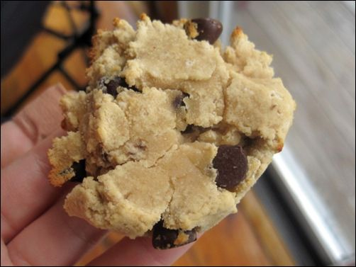 Coconut/Banana/Chocolate chip Cookies - no crappy ingredients.  Healthy treat!