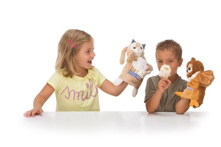 Trudi handpoppen: heerlijk zacht en geweldig om mee te spelen!