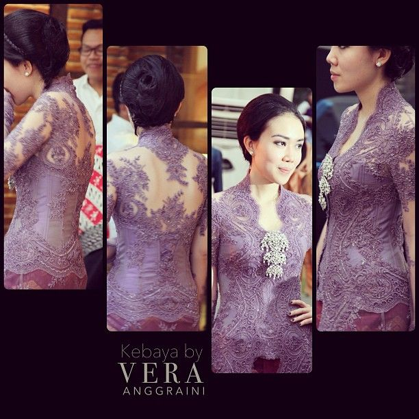 Vera Kebaya..Love everything except that huge diamond thing