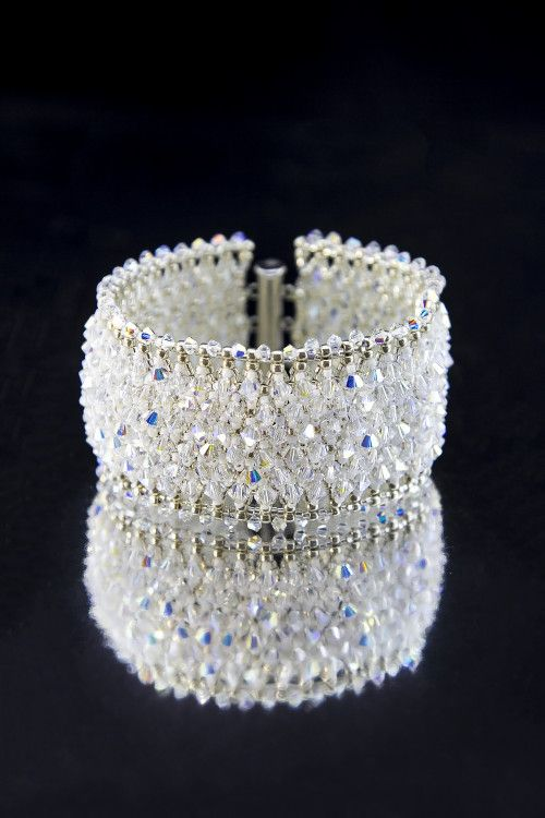 "034d78c24697 Bracelet ""Crystal"" full of Swarovski crystals"