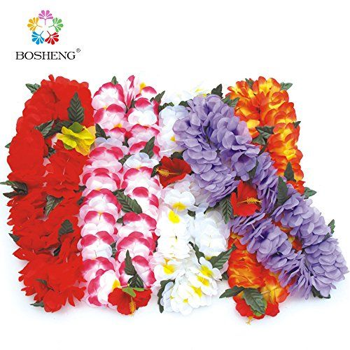 BOSHENG Colorful Luau Flower Leis Necklaces for Tropical Island Beach Theme Party Event, Birthday Supplies, Costume,Set of 5 BOSHENG http://www.amazon.com/dp/B01E34H65K/ref=cm_sw_r_pi_dp_iTWcxb15PKYEJ