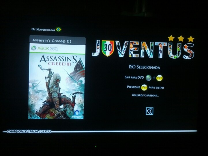 Juventus Theme, DvdMenu xkey360 - Xbox 360 - 2