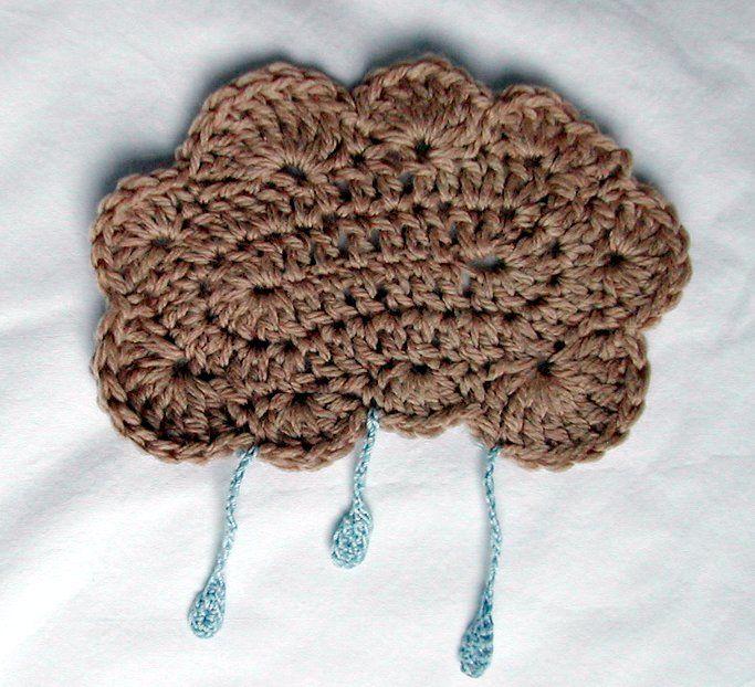 Knits and Knots: Rain Cloud - Free Pattern