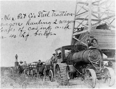 El Ebano: Mexican Petroleum Company, hacia 1902