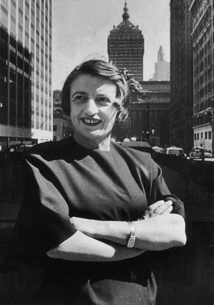 Ayn Rand 1957 - New York Times Co. / Archive Photos / Getty Images