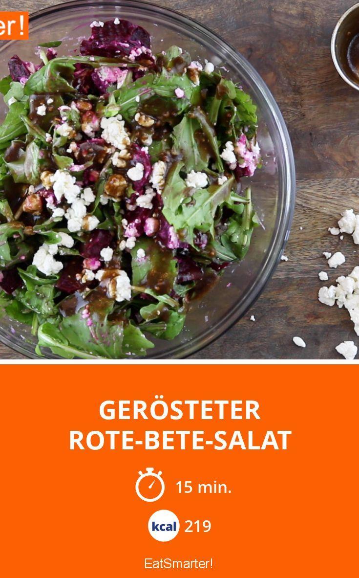 Gerösteter Rote-Bete-Salat | Kalorien: 219 Kcal - Zeit: 15 Min. | eatsmarter.de