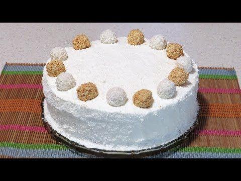 Tort Raffaello - YouTube