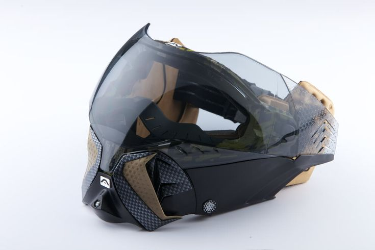 Angel Paintball mask...i wonder if it's strong enough for airsoft or if I'ld need something underneath?