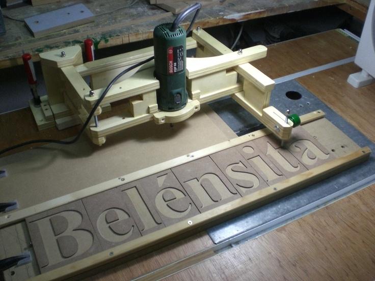 Panto fresadora grabador para madera hola amigos hoy - Sierra de mano para madera ...