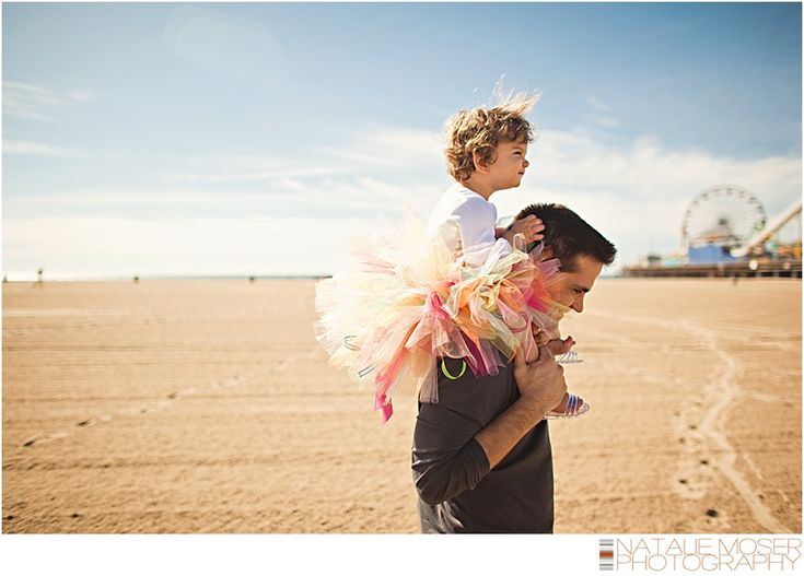 Father and Daughter. Family Photography, Children's Photography, Beach, Natalie Moser Photography
