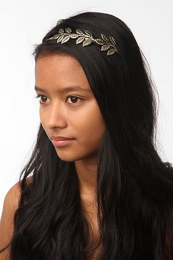 Loose Leaf Headband, Urban Outfitters