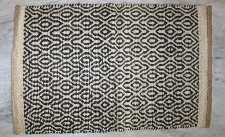 Doormats Non Slip Indoor Outdoor Floor 100% Jute Door Mats Hall Kitchen Mat #Unbranded #Traditional