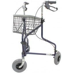 Andador caminador con ruedas Delta sin bolso  #ortopedia #orthopedia #walkers #mobilitywalkers #andadores #adultos #mayores #terceraedad #salud #health #ortopediaplus