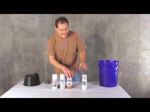 How to Paint a Plastic Bucket - YouTube