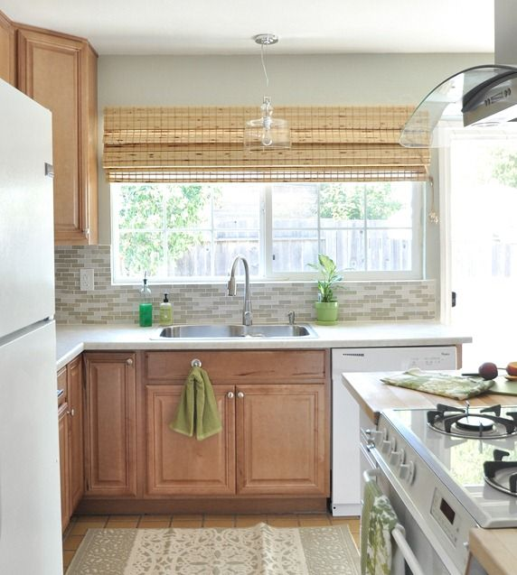 Kitchen Backsplash By Window 44 best kitchen makeover images on pinterest | kitchen, kitchen
