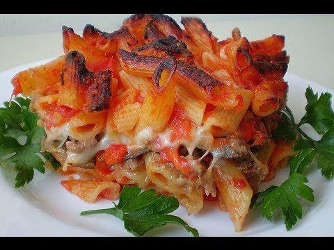 Pasta baked in the oven* Neapolitan way* PASTA al FORNO