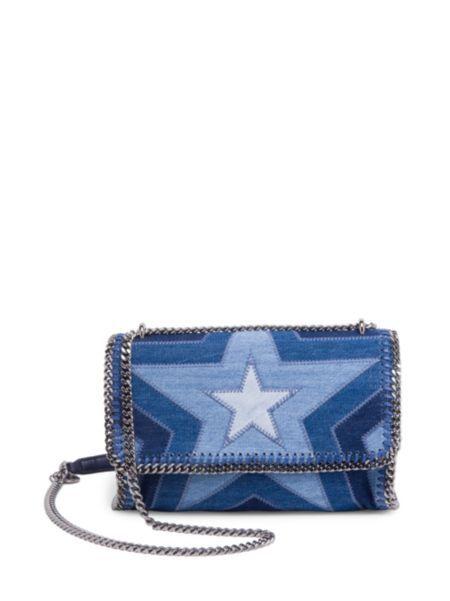 Stella McCartney - Star Denim Shoulder Bag  acee2137b6305