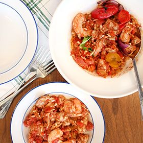 Slow Cooker Jambalaya, a recipe from the ATCO Blue Flame Kitchen.