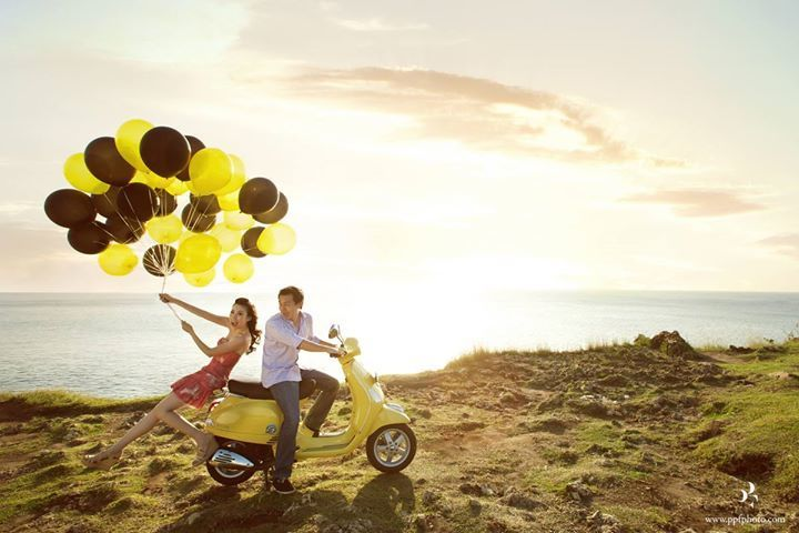 It's very nice to have some fun with your partner on your pre wedding shoot and enjoy the sunset together   Wedding Vendors and Ideas   http://www.bridestory.com/ppf-photography-videography/projects/kevin-felicia-photo-stanley-allan