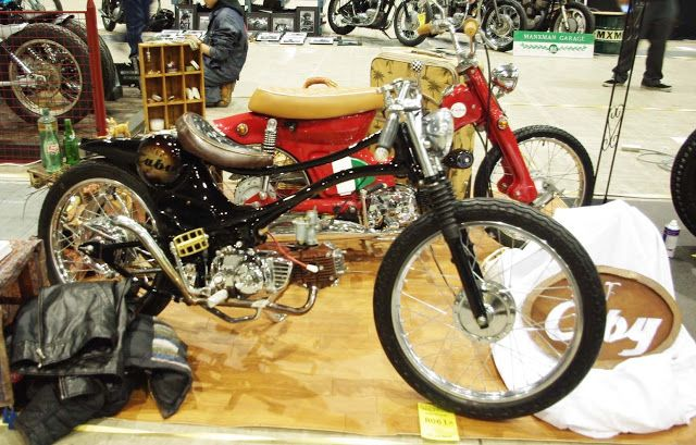 Corpses From Hell MG: Customised Honda cub's