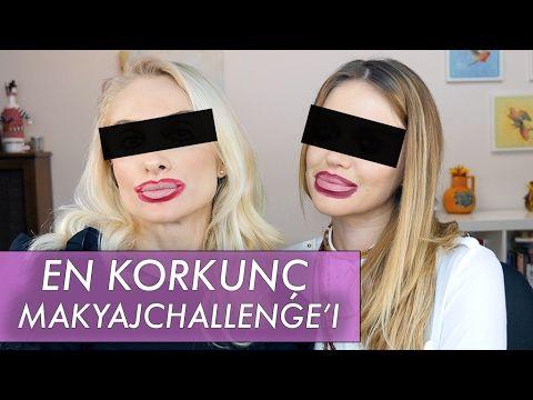 Ters Makyaj Korkunç Challenge !!!  ECEM KARAVUS | Sebi Bebi - YouTube