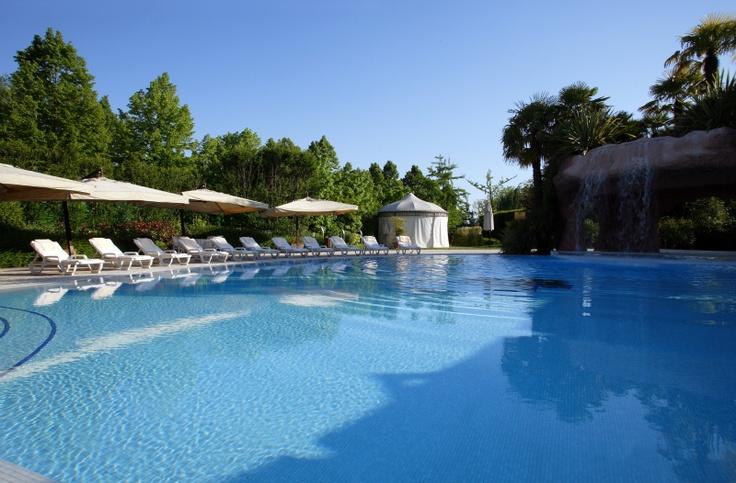 swimming pool of Relais Villa Fiorita - www.villafiorita.it