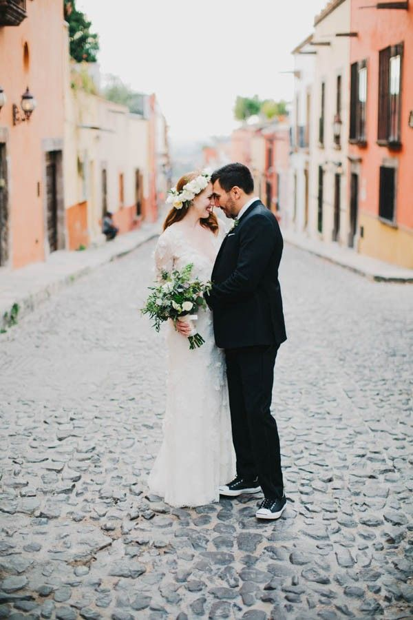 Colorful, festive, and filled with beauty, San Miguel de Allende makes the perfect wedding destination | Image by Blest Studios