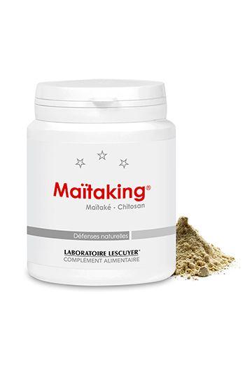 Maïtaking - Contribue au bon fonctionnement du système immunitaire (vit. B12) - #maïtaké, chitosan d'origine végétale, #vitamines - Complément alimentaire - Prix : 36,80 € TTC