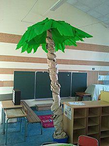 palmier dans la classe