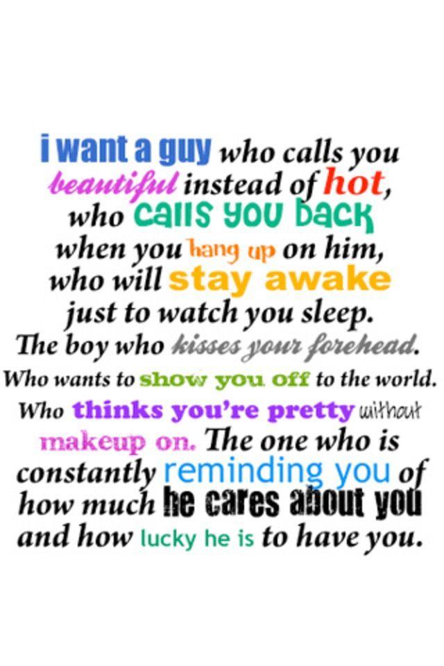What Do U Like In A Man