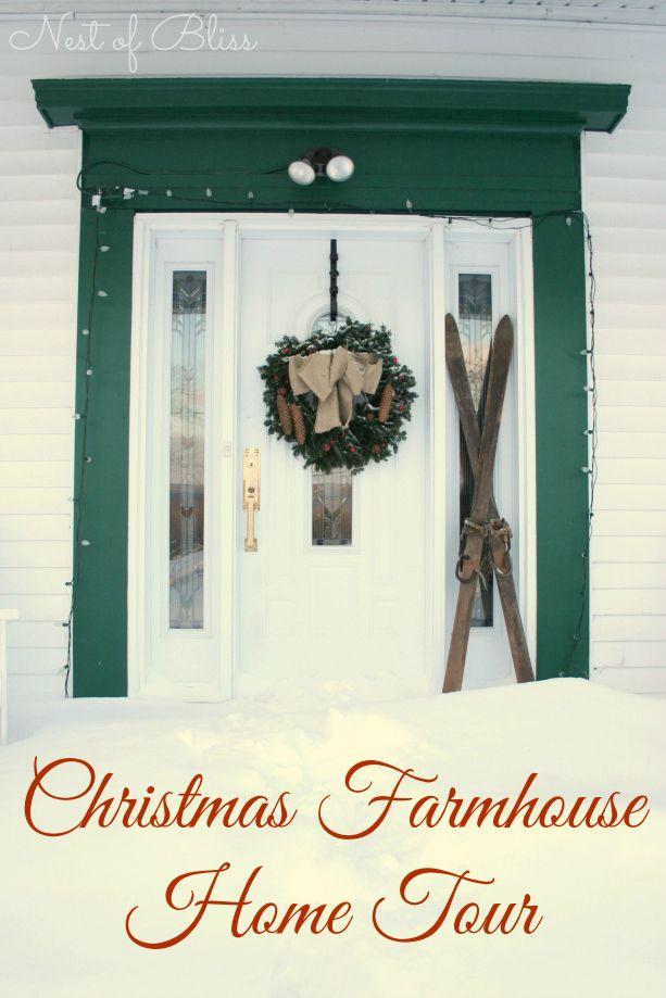 Christmas Farmhouse Tour 2013 Quot Diy Home Decor Ideas
