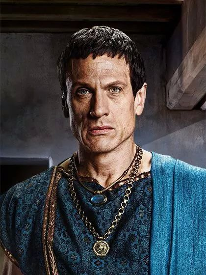 Marcus Licinius Crassus Spartacus - War of the Damned - Simon Merrells