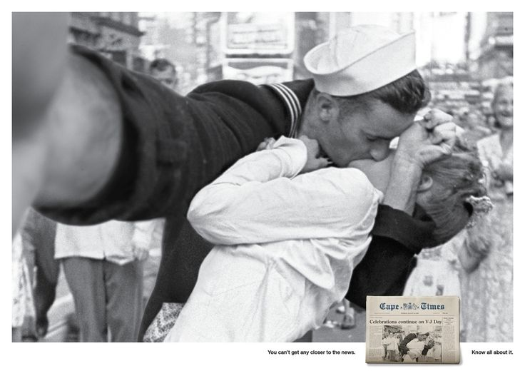 """Cape Times """"Selfies"""" - This campaign was created by Lowe / Cape Town."""