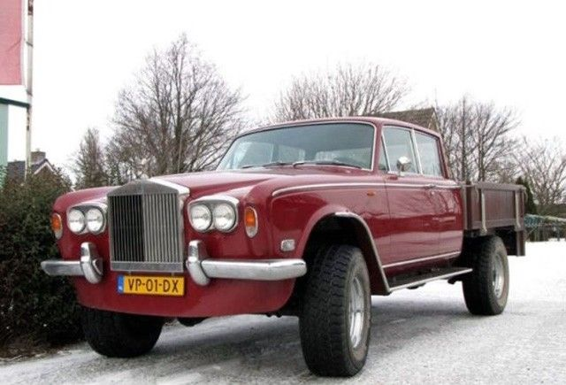 Rolls pickup