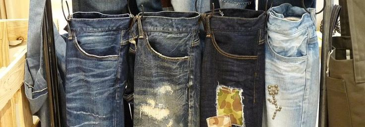 High quality, custom made Okayama denim jeans. Find out how to get some! www.visitwestjapan.com