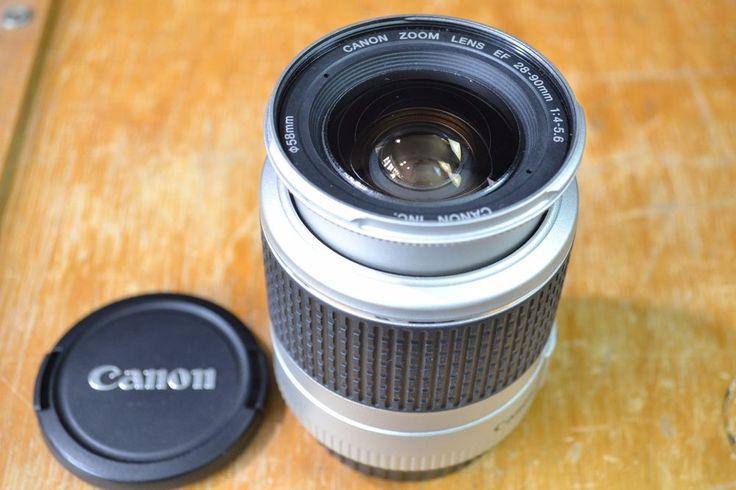 Canon EF 28-90mm 1:4-5.6 Lens