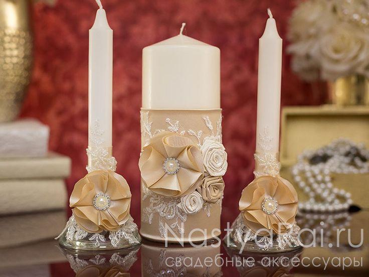 """Фото. Набор свечей """"Мадемуазель""""."""