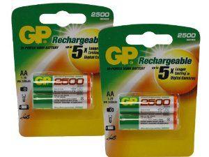 JVC GC-S1 AA NiMH Rechargeable GP Battery - 4pk (2500mAh) by GP. $8.50. JVC GC-S1 AA NiMH Rechargeable GP Battery - 4pk (2500mAh)