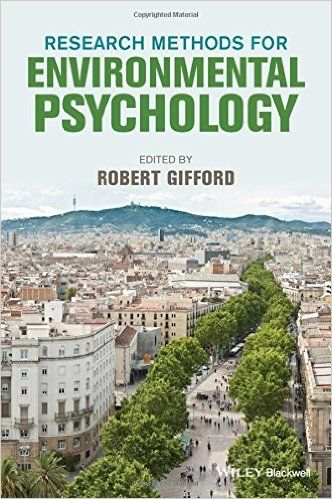 Amazon.com: Research Methods for Environmental Psychology (9781118795385): Robert Gifford: Books