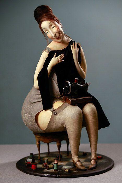 Arte com bonecas → Olga Egupets Artdoll