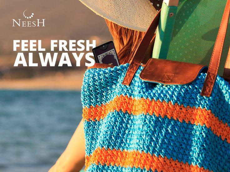 Take Neesh along on your summer holidays… #SummerCompanion #PortablePocketPerfume Buy now: http://goo.gl/p25NCI