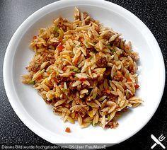 Kritharaki - Salat mit Hackfleisch (Rezept mit Bild)   Chefkoch.de
