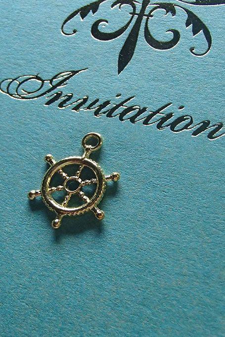 【ターコイズ招待状】海をイメージするようなターコイズブルーの爽やかな結婚式招待状