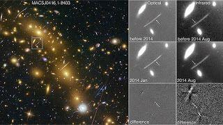 G.A.B.I.E.: El telescopio Hubble capta una explosión espacial ...