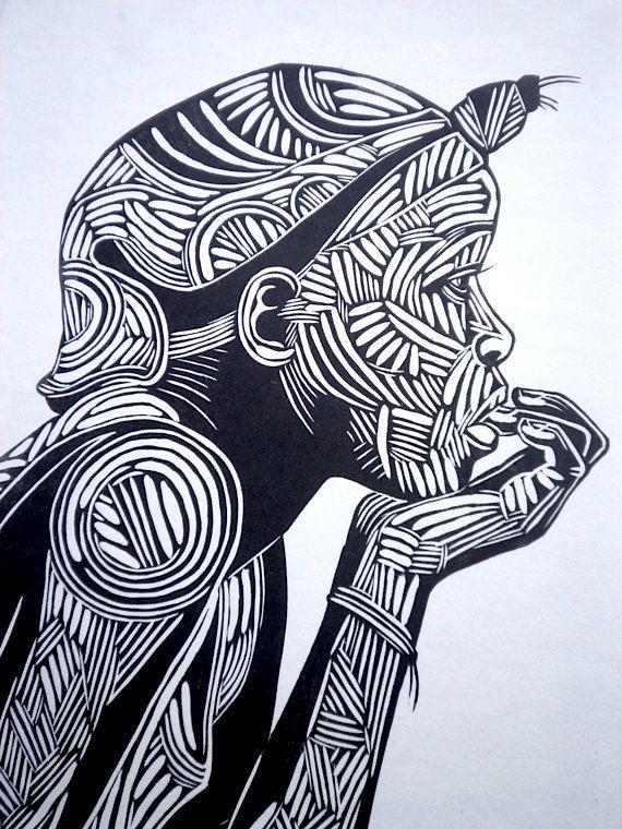 Reflectie zwart-wit afdrukken zwart-witte kunst door BenPrints