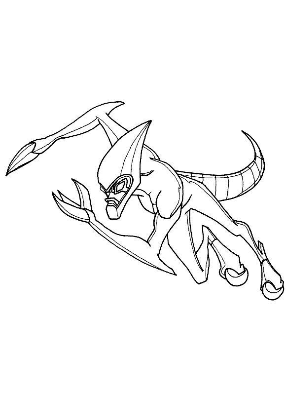 Ben 10 Fasttrack Coloring Pages Coloring Pages Bug Coloring Pages Ben 10