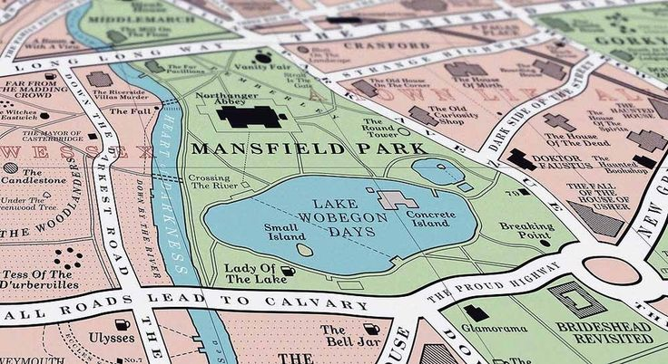 This Map Will Delight Book Lovers Everywhere