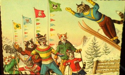 femtiotalsjakten - Roliga katter - succé både nu och då