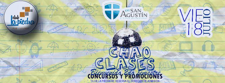 Banners / Foto Portada, invitando a los jovenes del C.F.T. San Agustín